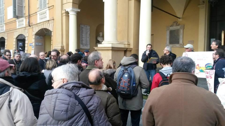 SLOT MOB a Reggio Emilia