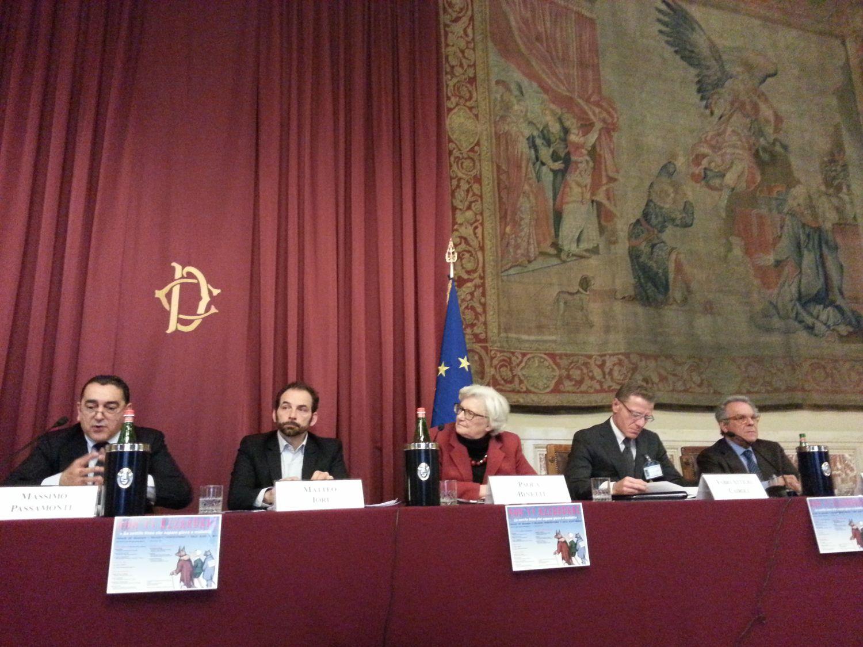 Convegno a Montecitorio - Matteo Iori si confronta con le industrie del gioco