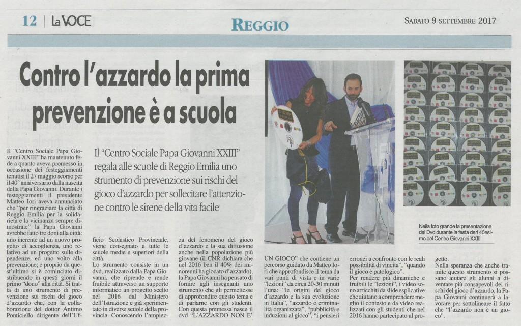 la Voce di Reggio - 9sett17